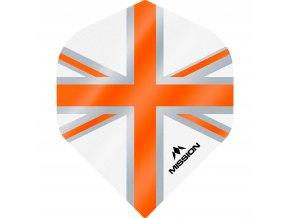 Mission Alliance No2 M000953 F3129 White Orange