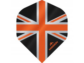Mission Alliance No2 M000896 F3084 Black Orange