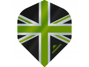 Mission Alliance No2 M000895 F3083 Black Green