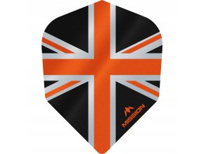 Mission Alliance No6 M000904 F3100 Black Orange