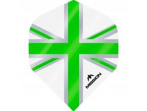 Mission Alliance No2 M000952 F3128 White Green