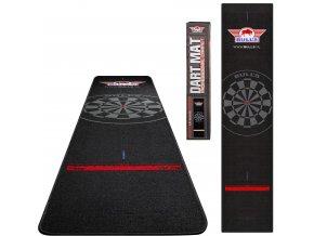 67833 Bulls Carpet Dartmat Black Black 300x65 Total