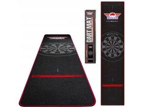 67835 Bulls Carpet Dartmat Black Red 300x65 Total