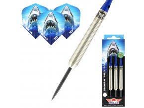 Šipky steel Bull's Shark Pro C 90% 19g