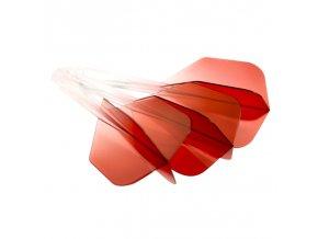 Letky CONDOR AXE Gradation small No6 red/clear