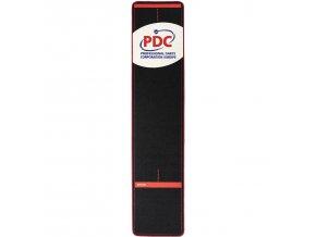 Koberec PDC Europe Dart Mat 300x67 cm