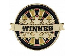 Odznak Terč černý Winner