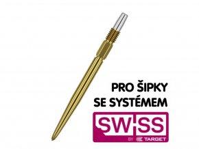 Hroty Steel Swiss Gold 35mm