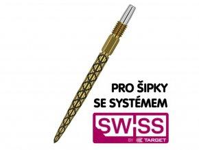 Hroty Steel Swiss  Diamond Pro Gold 35mm