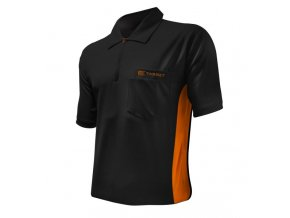 Tričko COOLPLAY DART SHIRT HYBRID black/orange