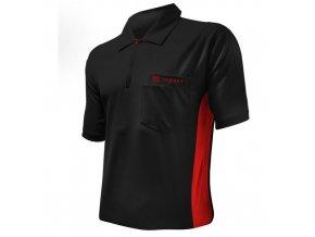 Tričko COOLPLAY HYBRID black/red
