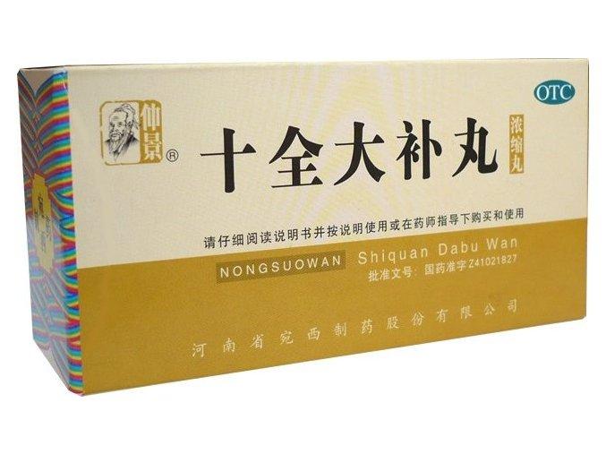 SILNÉ DOPLNENIE ENERGIE WLC6.9 - shi quan da bu wan (Objem 200 ks)
