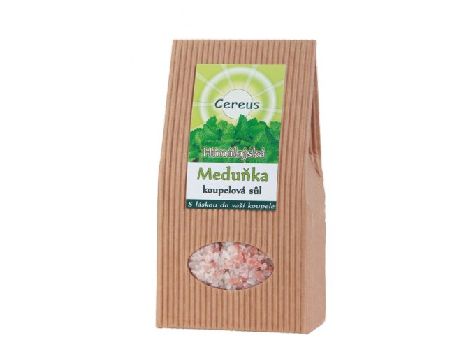 Himalájska kúpeľová soľ Medovka - Cereus (Objem 500 g)