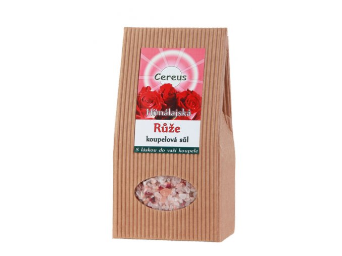 Himalájska kúpeľová soľ Ruža - Cereus (Objem 500 g)
