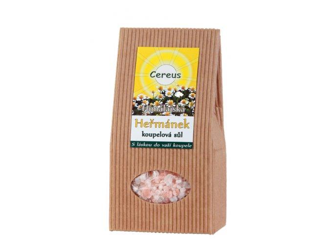 Himalájska kúpeľová soľ Harmanček - Cereus (Objem 500 g)