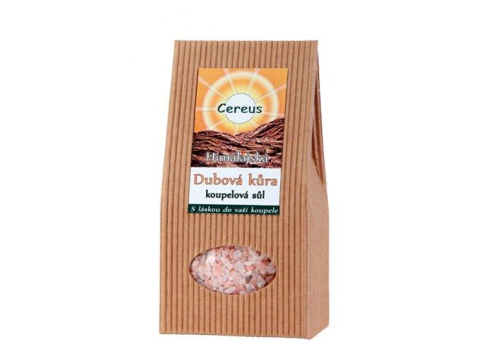 Himalájska kúpeľová soľ Dubová kôra - Cereus (Objem 500 g)