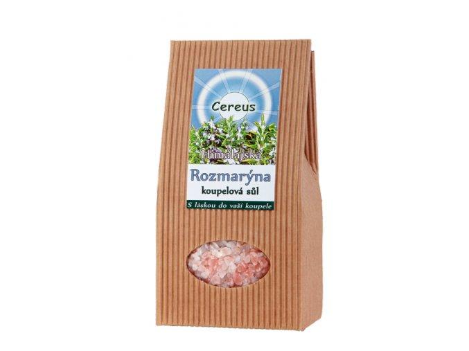 Himalájska kúpeľová soľ Rozmarín - Cereus (váha 500 g)