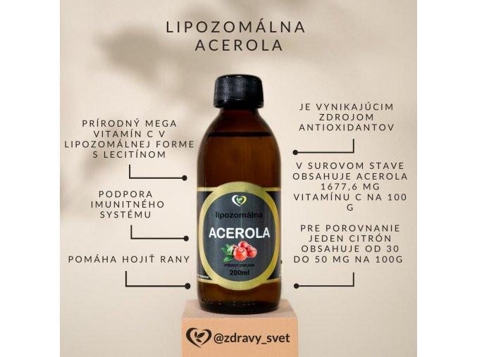 lipozomalna prirodna acerola