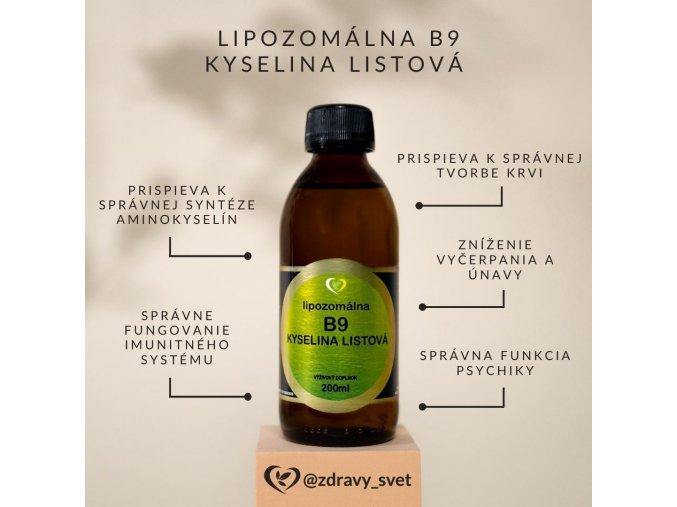 lipozomalna kyselina listova
