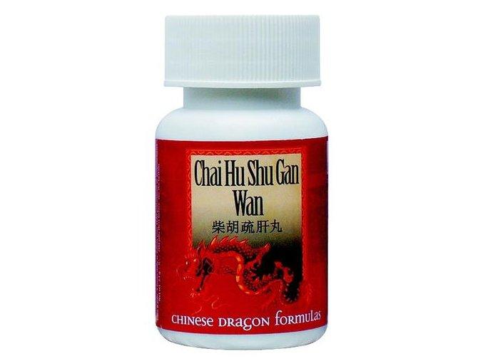 CHAI HU SHU GAN WAN - UKĽUDNENIE ZNESVÁRENÝCH (Objem 200 guľôčok/ 33g)