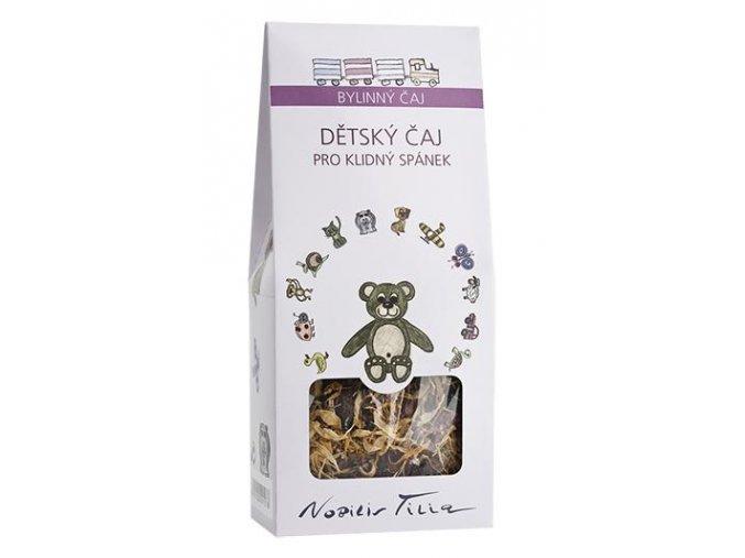 Detský čaj na kľudný spánok - Nobilis Tilia (Objem 50 g)