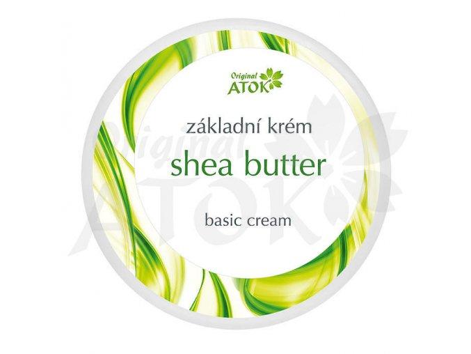 Základný krém Shea Butter - Original ATOK (Obsah 250 ml)