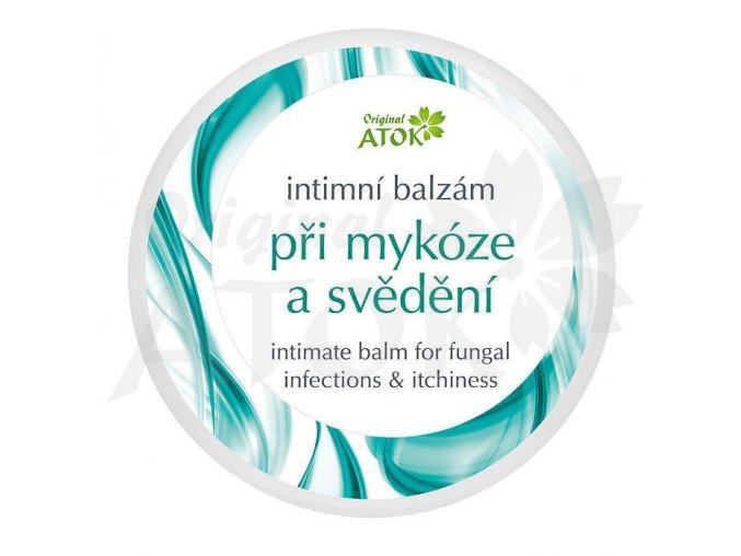 Intímny balzam pri mykóze a svrbení - Original ATOK (Obsah 50 ml)