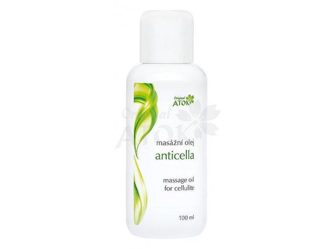 Masážny olej Anticella - Original ATOK (Obsah 500 ml)