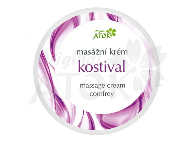 Masážny krém Kostihoj - Original ATOK (Obsah 250 ml)