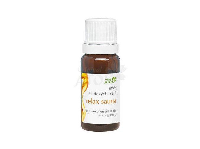 Zmes éterických olejov Relax sauna - Original ATOK (Obsah 20 ml)