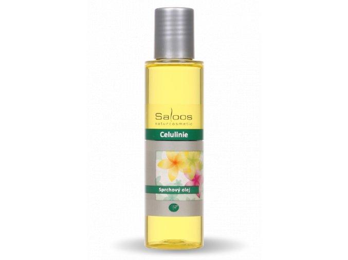 sprchovy olej celulinie saloos