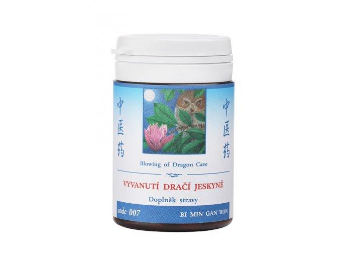 VYVANUTIE DRAČEJ JASKYNE - BI MIN GAN WAN - TCM Herbs (Objem 100 tabliet / 30 g)