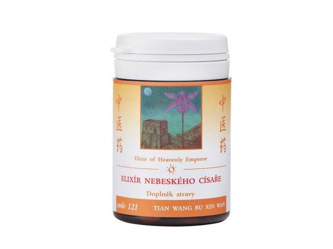 ELIXÍR NEBESKÉHO CISÁRA - TIAN WANG BU XIN WAN - TCM Herbs (Objem 100 tabliet / 30 g)