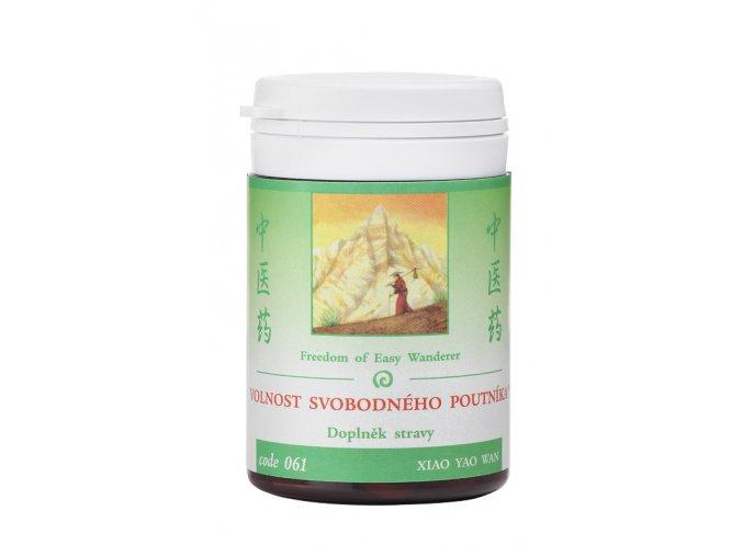 VOĽNOSŤ SLOBODNÉHO PÚTNIKA - XIAO YAO WAN - TCM Herbs (Objem 100 tabliet / 30 g)