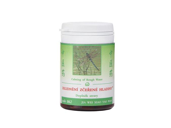 SKĽUDNENIE ROZBÚRENEJ HLADINY - JIA WEI XIAO YAO WAN - TCM Herbs (Objem 100 tabliet / 30 g)