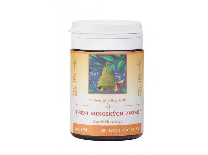 TÍŠENIE MINGSKÝCH ZVONOV - ER LONG ZUO CI WAN - TCM Herbs (Objem 100 tabliet / 30 g)