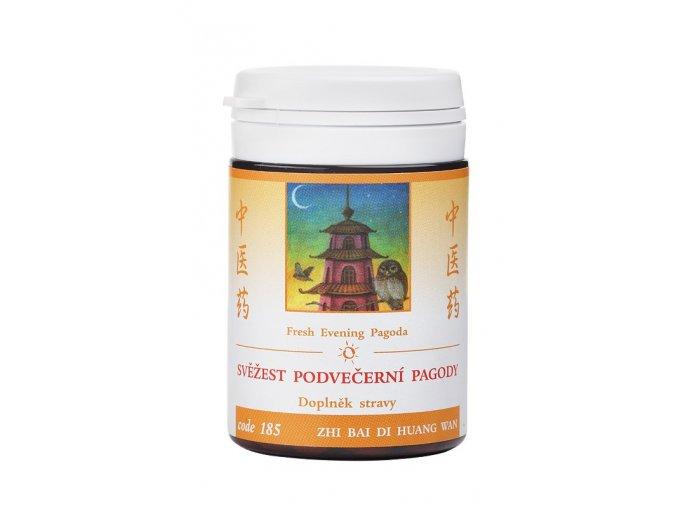 SVIEŽOSŤ Z PODVEČERNEJ PAGODY - ZHI BAI DI HUANG WAN - TCM Herbs (Objem 100 tabliet / 30 g)