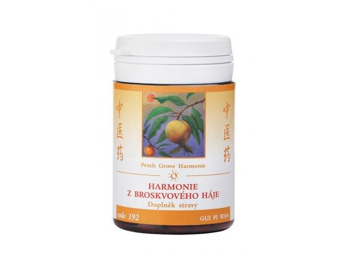 HARMÓNIA Z BROSKYŇOVÉHO HÁJA - GUI PI WAN - TCM Herbs (Objem 100 tabliet / 30 g)