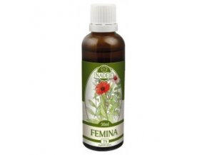 Femina - tinktúra z bylín T9 (Objem 50 ml)