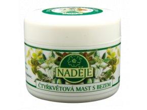 Masť štvorkvetová s bazou - Naděje (Objem 50 ml)