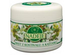 Masť z kostihoja a pagaštanu - Naděje (Objem 50 ml)
