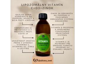 vitamin d3 vitamin c zinok X