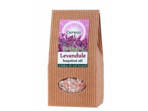 Himalájska kúpeľová soľ Levanduľa - Cereus (Objem 500 g)
