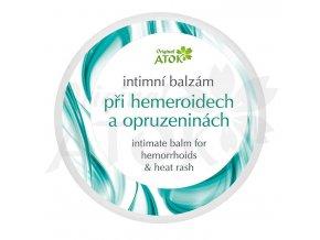 Intímny balzam pri hemoroidoch a zapareninách - Original ATOK (Obsah 100 ml)