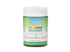 SÚZNENIE KÚZELNEJ PREMENY - CHAI HU SHU GAN WAN - TCM Herbs (Objem 100 tabliet / 30 g)