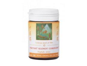 TIBETSKÝ KLENOT CORDYCEPS - DONG CHONG XIA CAO WAN - TCM Herbs (Objem 100 tabliet / 30 g)