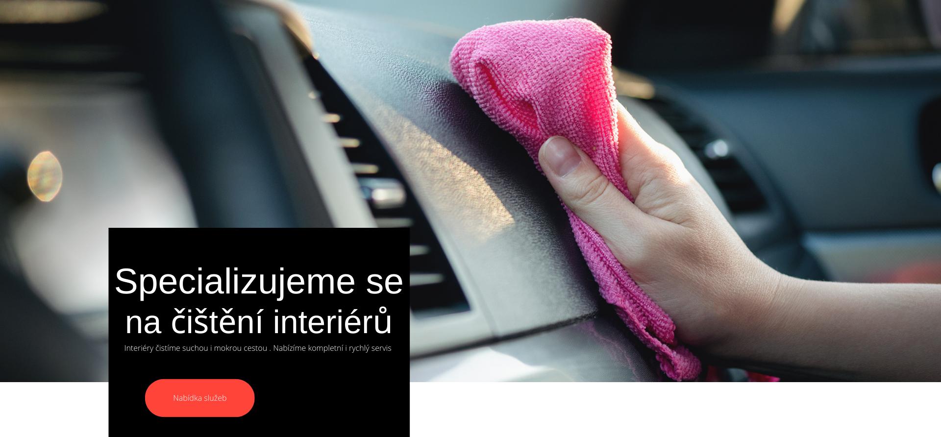 Čistíme auta a víme jak na to čistíme interiéry