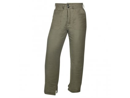 Kalhoty vatované NICOLAS K, zelené