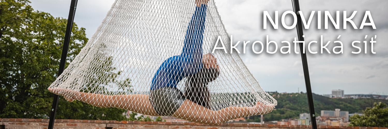 NOVINKA / Akrobatická síť