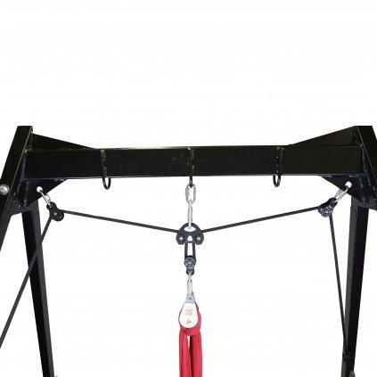 Kladkový systém / pro vzdušnou akrobacii